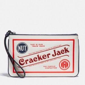 Coach Wristlet W/ Cracker Jack Motif 🍿
